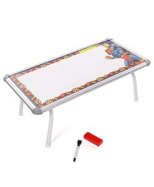 Super Man Write And Wipe Toy Board Table (Color May Vary)