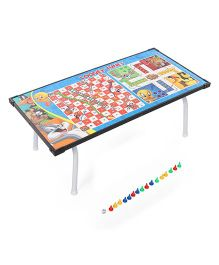 Looney Tunes Multi Purpose Gaming Table - Multicolor