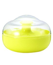 Pigeon Powder Case With Puff - Yellow