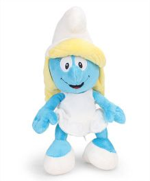 Smurfs Soft Toy Smurfette White Blue - 30 cm