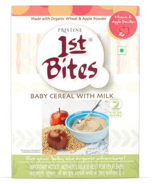 Pristine 1st Bites Wheat And Apple Powder 8 Months to 24 Months Stage 2 - 300 gm