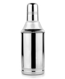 Home Union Stainless Steel Oil Dispenser With Cap - Silver