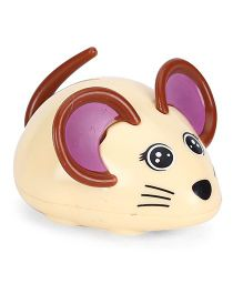 Playmate Wind Up Mouse Toy - Cream & Brown