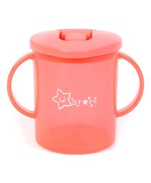 Twin Handle Sipper Cup With Spout Peach - 270 ml