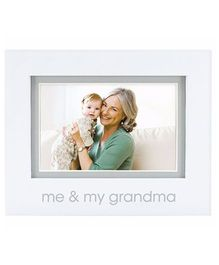 Pearhead Me and My Grandma Photo Frame - White