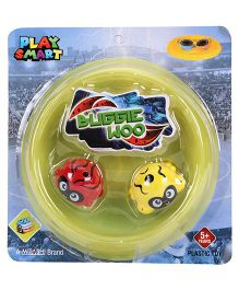 Mitashi Playsmart Buggie Woo Friction Toy 4 Pieces (Color May Vary)