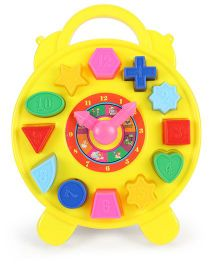 Ratnas Educational Puzzle Clock (Color May Vary)