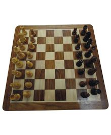 Wasan Chopra Chess Top Open Magnetic - Brown Cream