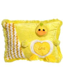Ultra Pillow Duck Face Design - Yellow