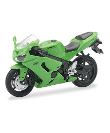 New Ray Die Cast Toy Bike Kawasaki Ninja ZX 6RR - Green