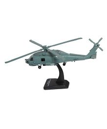New Ray Die Cast Toy Helicopter Sikorsky HH60JJA Hawk - Grey