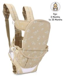 Fab N Funky Soft Baby Carrier 6 Way - Cream
