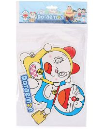 Sticker Bazaar Doraemon A4 Size Cut Out Sticker - Multicolor