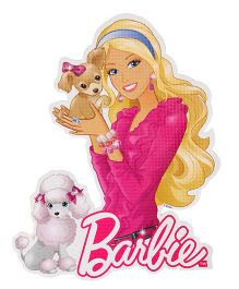 Sticker Bazaar Barbie Cut-out A4 Size (Design & Color May Vary)
