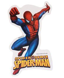 Sticker Bazaar Spider Man Cut-out A4 Size - Blue Red