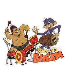 Sticker Bazaar Chhota Bheem Cut-out A4 Size - Multi Color