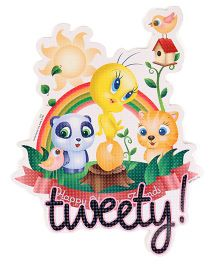 Sticker Bazaar Tweety Cut-out A4 Size (Color & Design May Vary)