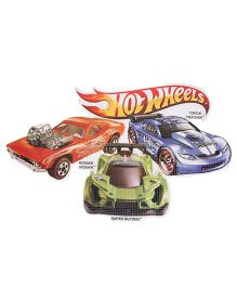Sticker Bazaar Hot Wheels Medium Cut Out - Multi Color