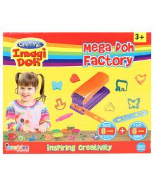 Craftival Imagi Doh Mega Doh Factory Set - Multi Color
