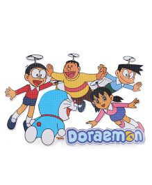 Sticker Bazaar Doraemon Sticker Cut Out Multi Color - Medium
