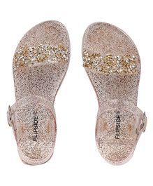 Flipside Sophia Sandals - Gold (2 to 2.5 Years)