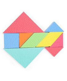 Mind Puzzles Tangram Challenge - Multicolor