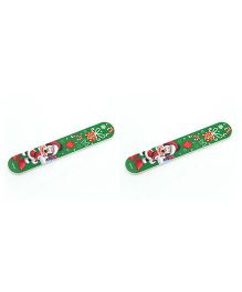 Buddyboo Nail Filer Minnie Mouse Print - Green