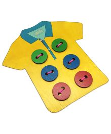 Skola Wooden TShirt Tailor - Yellow