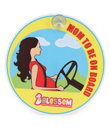 Blossom Child Proofings Mom To Be On Board Sign Board II - Multi Color