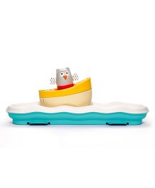 Taf Toys 3 In 1 Musical Boat Cot Toy - Multicolour