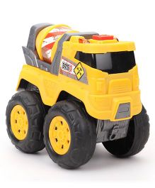 Dickie Tough Workers Cement Mixer Truck - Yellow