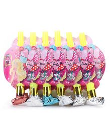 Barbie Blowout Horns Pack of 6 (Color May Vary)