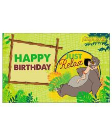 Jungle Book Table Mats Pack of 6 - Green