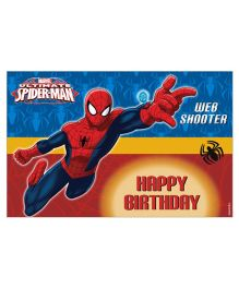 Marvel Spiderman Table Mats Pack of 6 - Blue Red