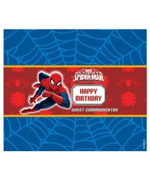 Marvel Spiderman Chocolate Wrappers Pack of 10 - Red Blue