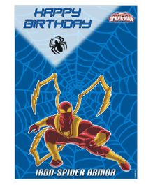 Spiderman Centerpiece Pack of 2 - Blue