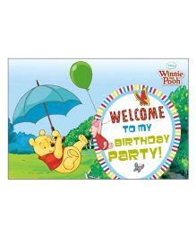 Disney Winnie The Pooh Welcome Banner - Multi Color