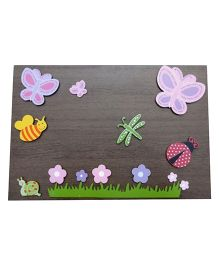 Kidoz Wooden Garden Wall Decor Pack Of 5 - Multi Color