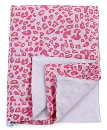 Abracadabra Animal Print Changing Mat Pink - Single