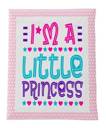 Fancy Fluff Premium Digitally Printed Comforter Princess Theme - Pink