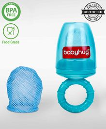 Babyhug Fruit And Food Nibbler 2 In 1 With Mesh And Silicone Sac