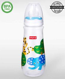 Babyhug Drop Anti Colic Feeding Bottle Blue - 250 ml