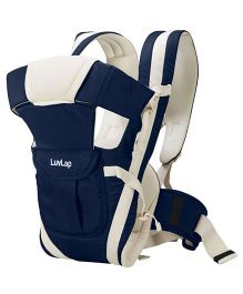LuvLap Elegant Baby Carrier - Dark Blue