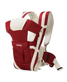 LuvLap Elegant Baby Carrier - Red