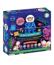Genius Box 6 in 1 Sea Life Activity Kit