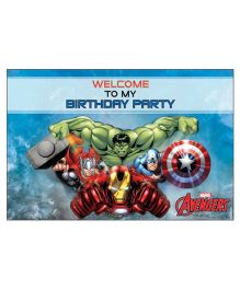 Avengers Welcome Banner - Multi Color