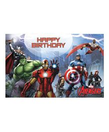 Avengers Table Mats Pack of 6 - Multi Color