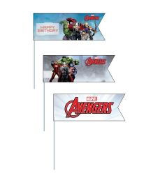 Avengers Picks Pack of 20 - Multi Color