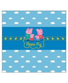 Peppa Pig Chocolate Wrappers - Blue