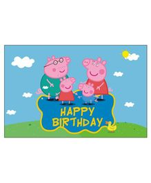 Peppa Pig Table Mat - Pack Of 6